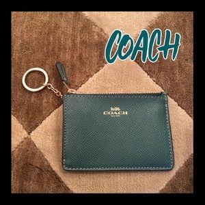 🌸NWT🌸Coach mini coin/ID credit card/key case